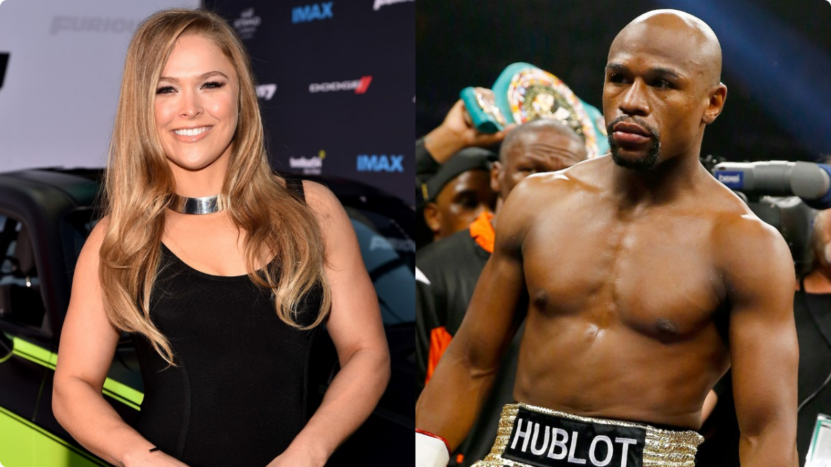 Floyd Mayweather Disses Ronda Rousey — 'Call Me' When You ...