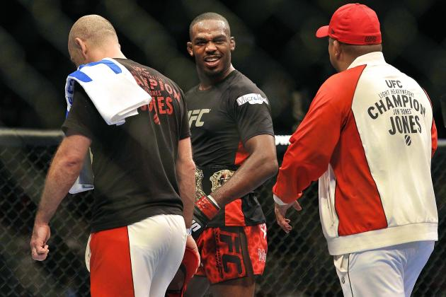 MMA Chuck Liddell Jon Jones